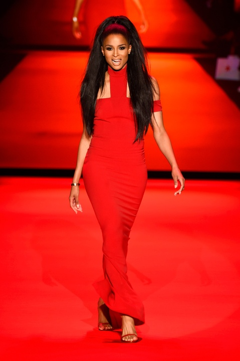 38 Clifford New York Fashion Week Fall 2015 Go Red for Women February 2015 Ciara