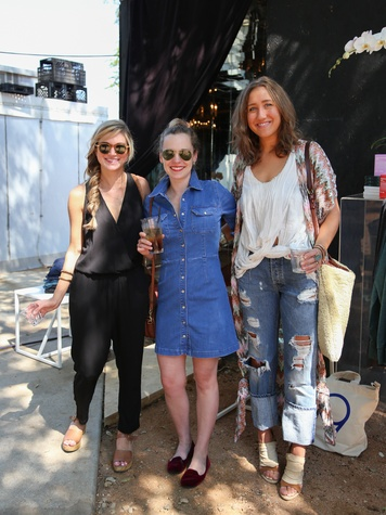 Tribeza Style Brunch 2015 at Justine's Brasserie Claire Zinnecker Jennifer Rose Smith Bethany Whaley