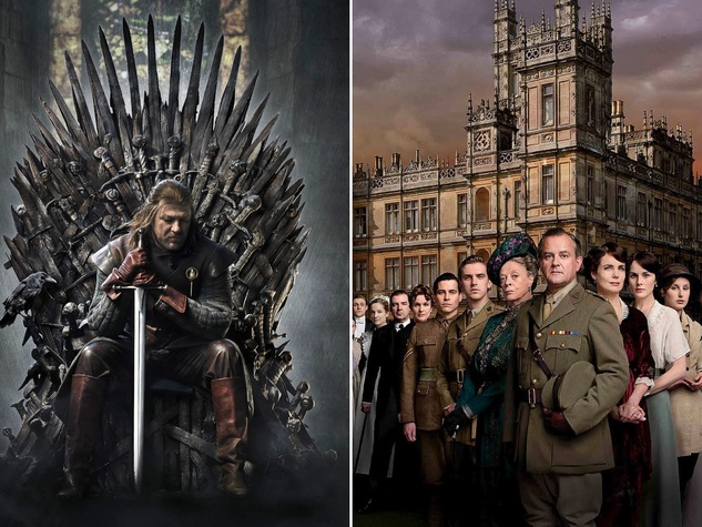 game of thrones and downtown abbey