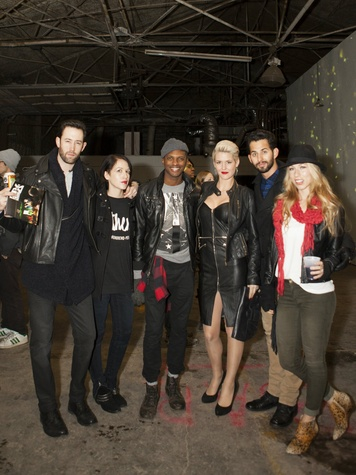Jencey Keeton, Cole, Tramaine, Nicole Cullum Horn, Tyler, Taylor at Art Con X