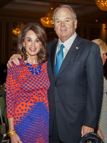 Lana and Barry Andrews at Living Legend Luncheon with George W. Bush