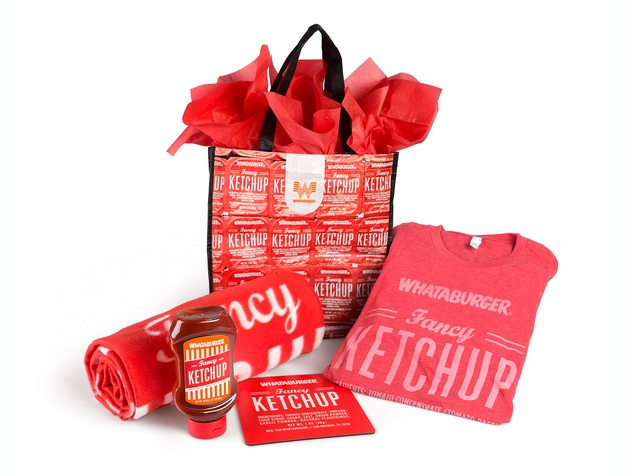 Whataburger Fancy Ketchup Lover's Bundle February 2014