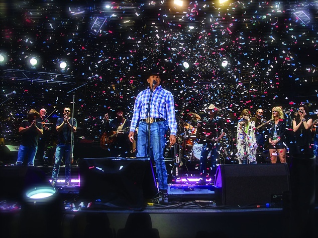 George Strait final concert at AT&T Stadium in Arlington