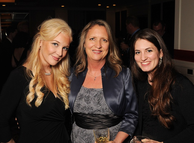 12 Magan M. Hunt, from left, Lynn Birdwell and Megan O'Sullivan at the Petroleum Club of Houston Grand Opening Celebration February 2015