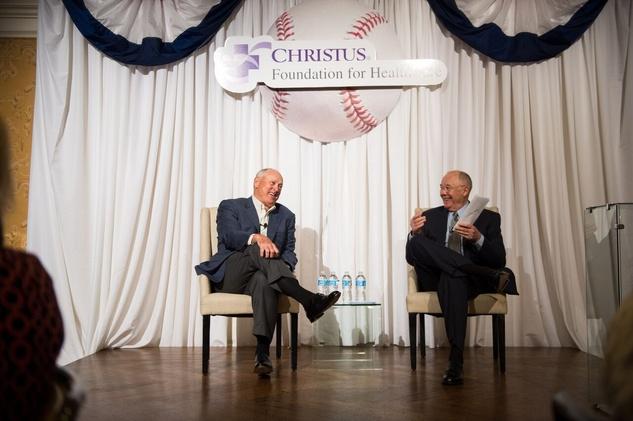 Christus Foundation Luncheon, March 2016, Nolan Ryan, Steve Smith