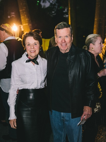 7 Ginny and Richard Mithoff at the Bayou Preservation Association's Born on the Bayou party October 2013