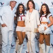 Loya Texans White Out party, 9/16 Lance Smith, Alicia Smith