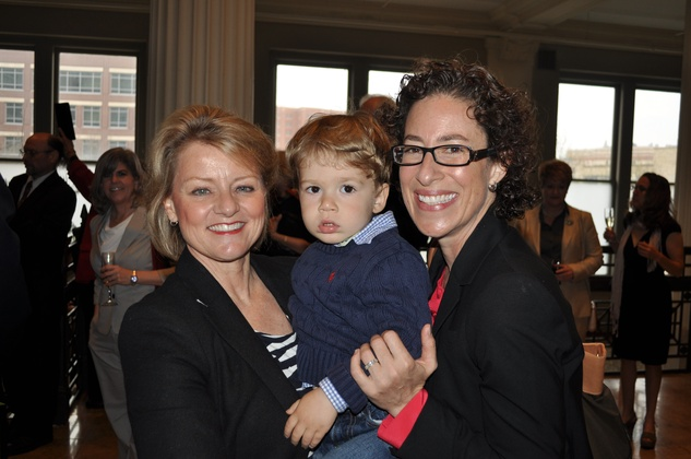 News, Mayor Annise Parker wedding reception, Susan Carter, Eli Spanjian, Laura Spanjian, March 2014
