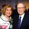 609 Barbara Hines and Gerald D. Hines at the Barbara Hines Art Opening in Dallas October 2014