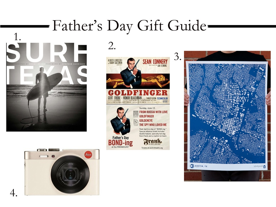 Austin Father's Day Gift Guide Art