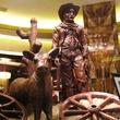 Deborah Elias, My Favorite Things, March 2013, chocolate cowboy, Wild West vignette