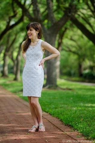 Lauren mills spring outfit