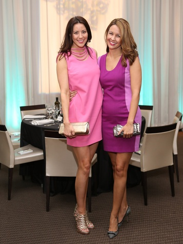 157, Dress for Dinner event, March 2013, Carrie Colbert, Kelli Colbert