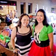 244 Laurinda Lin, left, and Lisa Lin at the Art Car Ball April 2015