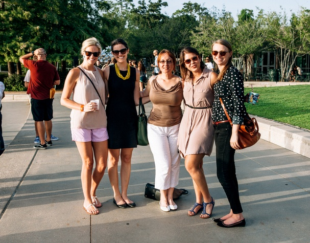 News, Shelby, Hermann Park Urban Green, August 2014, Sarah Covington, Julia Domning, Darya Trap, Megan Williams, Ara Griffith