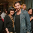 18 Tiffany Halik and Mazen Baltadi at the CultureMap Social at Saint Genevieve October 2013