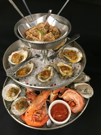 Caracol seafood tower