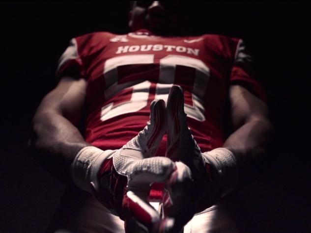 University of Houston football player