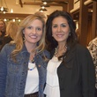 4 Janel Wilson, left, and Leticia Vasquez at the Houston Livestock Show and Rodeo Trailblazer honoree reception October 2014