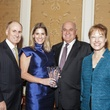 Eddy Blanton, from left, Greggory Burk, Jerry Fields and Dr. Denise Trauth at the Hospice Spirit Award dinner October 2014