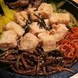 BonChon chicken, tofu