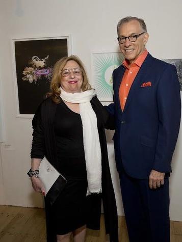 Glassell Benefit and Auction 2015 Barbara Davis, Gary Tinterow
