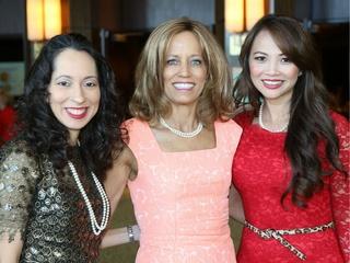 Judge Debra Mayfield, Dr. Melanie Brown, and Victoria Ai Linh