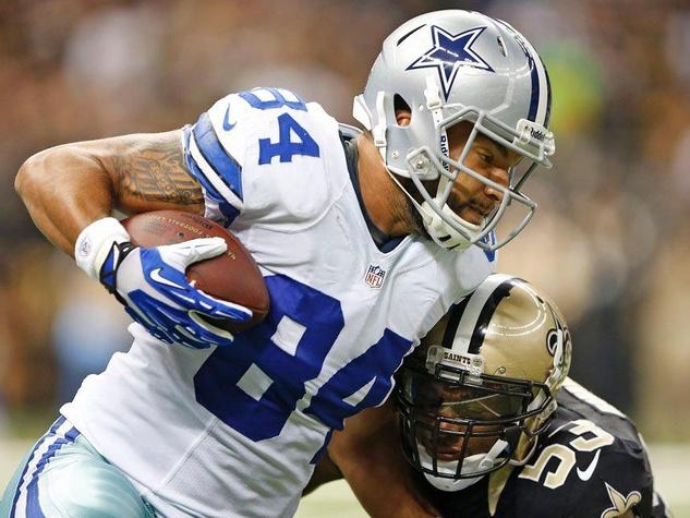 James Hanna of the Dallas Cowboys