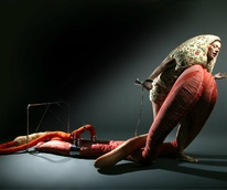 Still from Lamentation, Clarina Bezzola, Video Performance