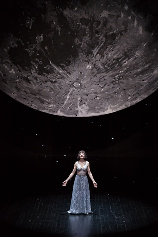 Josie de Guzman as Titania in the Alley Theatre's production of A Midsummer Night's Dream.