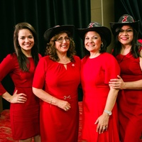 American Heart Association presents Vestido Rojo