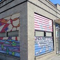Texas Art Asylum, December 2012, exterior, building