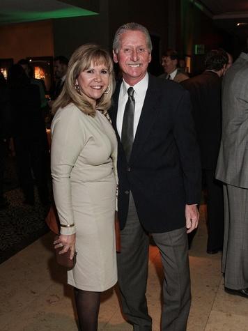 Cyndy and Thomas Roberts at the Knowledge Arts Foundation dinner November 2013