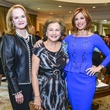 10 Sandy Barrett, from left, Joann Crassas and Dominique Sachse at the Fashion Retailers luncheon October 2013