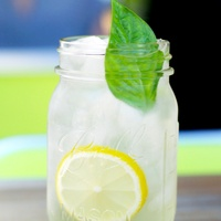 Houston, Hopdoddy, Bubbly Blonde lemonade, August 2017