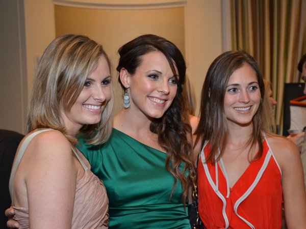 Leukemia Man and Women of Year finale, June 2012, Emily Hardenan, Lindsay Yates, Kennon Brandt