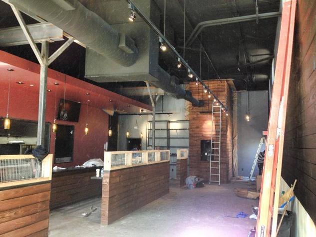 Max's Montrose construction January 2014