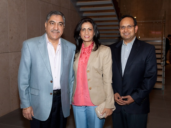 News_Asia Society preview party_January 2012_Bobby Singh_Priti Singh_Prat Bose
