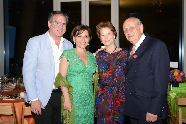 25 282-Michael and Lucia Cordua, from left, and Mary and Miguel Espinosa at the Casa de Esperanza benefit April 2014