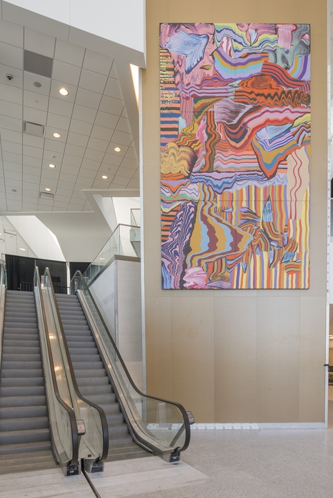 Henrique Oliveira, Travessia, Hobby Airport art