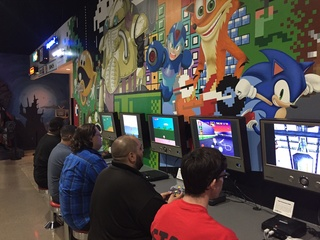 Games at National Videogame Museum