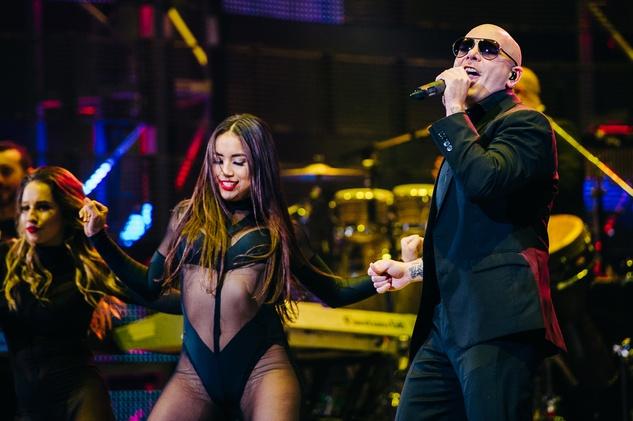 Pitbull dancer