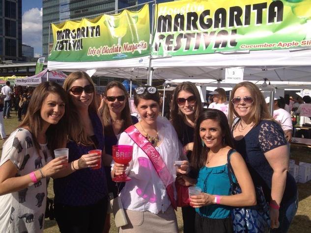 Houston Margarita Fest group of girls October 2013