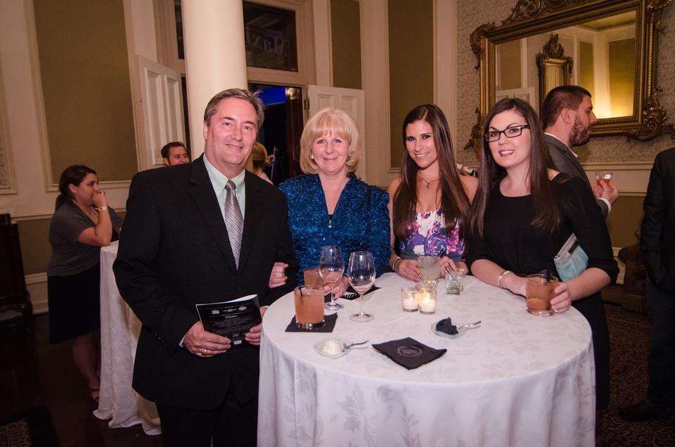 Scott and Linda McFall, Anja Marie and Sarah Carr