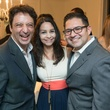 12 Giuseppe Liberati, from left, Kimberly Trevino and Gerard Trevino at the HGO Young Patrons Kick-off September 2014
