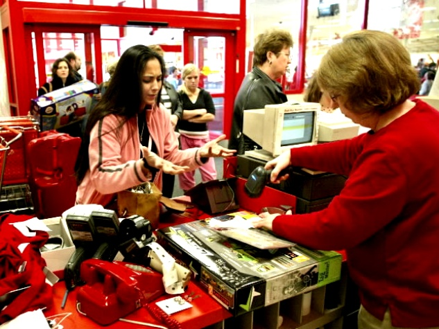 Houston - Target - Christmas gift returns
