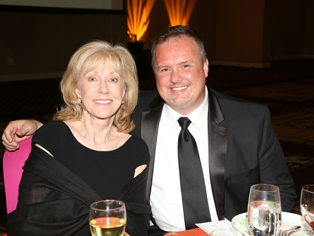 3 Catherine Mosbacher and Zeph Capo at the AAMA Tacos y Tacones Gala October 2014