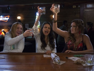 Kristen Bell, Mila Kunis, and Kathryn Hahn in Bad Moms
