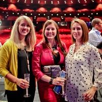 Houston Ballet Barre Champagne Toast June 2013 Taryn Cheesman, Lauren Evenson and Ashley Lundblad