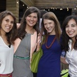 Kristen Hunter, from left, Erin Lopez, Jennifer Simar and Katherine Schell at Friends of DePelchin's Fiesta May 2014